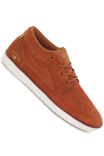 Lakai x Fourstar Howard Boot Suede Shoe (tobacco)