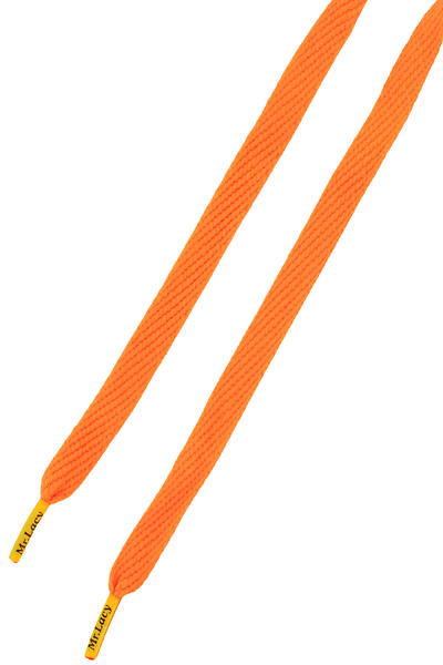 Mr. Lacy Flatties Cordones (bright orange yellow)