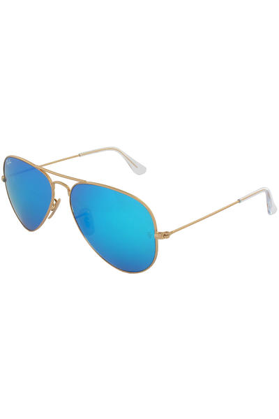 Ray-Ban Aviator Large Metal Sonnenbrille 58mm (gold blue)