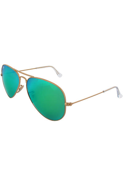 Ray-Ban Aviator Large Metal Sunglasses 58mm (gold green)