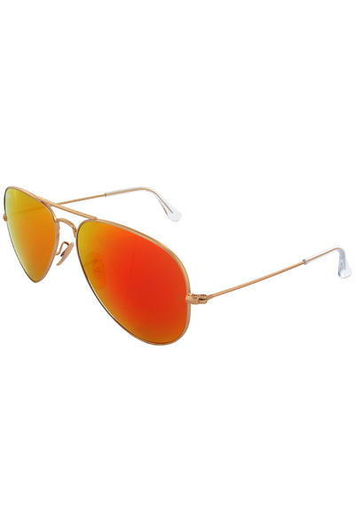 Ray-Ban Aviator Large Metal Sonnenbrille 58mm (gold orange)