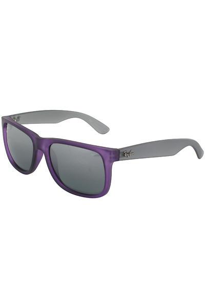Ray-Ban Justin Sonnenbrille 55mm (rubber dark violet)