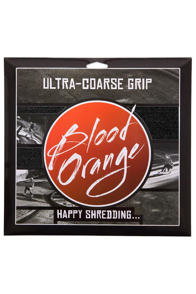 Blood Orange Heavy-Duty Ultra-Coarse Lija (black) Pack de 4