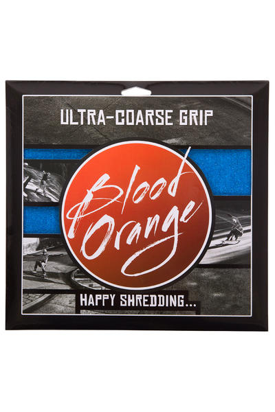 Blood Orange Heavy-Duty Ultra-Coarse Lija (blue) Pack de 4