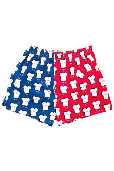 Lousy Livin Underwear Multicolor Toast Boxershorts (grenadine)