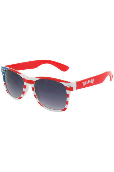 Thrasher Big Blue Sunglasses (red blue white)