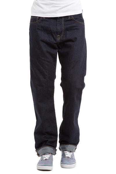 Carhartt WIP Buccaneer Pant Hanford Jeans (blue rinsed)