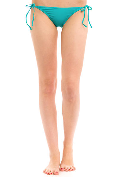 Volcom Simply Solid Skimpy Bikini Pants women (teal)