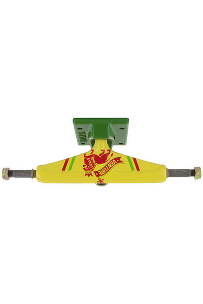 "Venture Trucks Color Rasta Lion Low 5.0"" Truck (yellow green)"