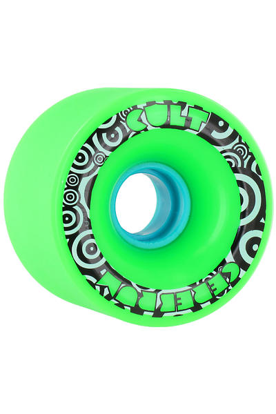 Cult Cerebrum SG 71mm 80A Wheel (green) 4 Pack