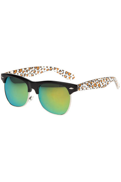 SWEET SKTBS Operate Sunglasses (skröder black leo gold mirror)