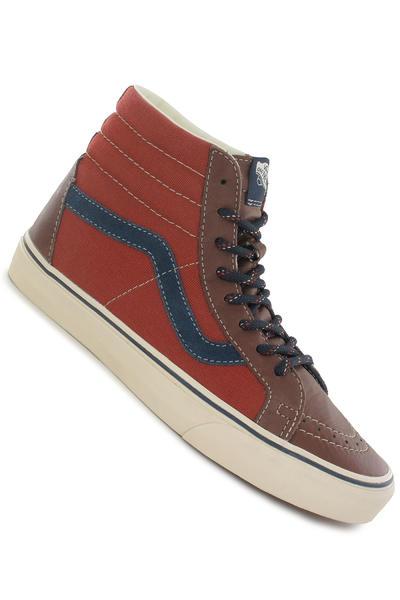 Vans Sk8-Hi Leather Schuh (cappuccino ketchup)