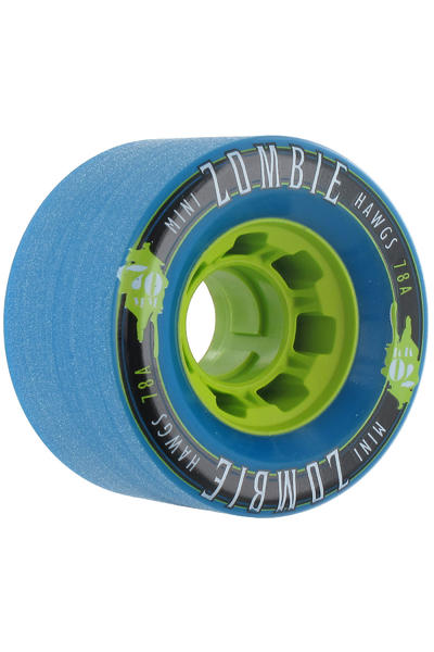 Hawgs Mini Zombies 70mm 78A Rollen (blue) 4er Pack