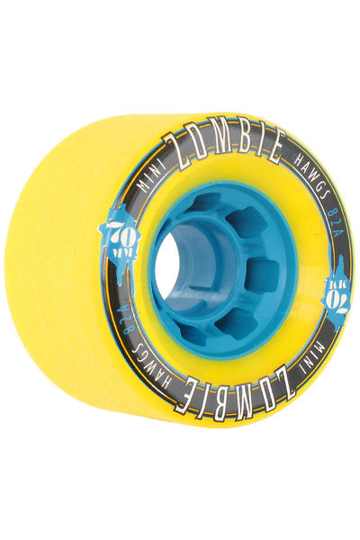 Hawgs Mini Zombies 70mm 82A Roue (yellow) 4 Pack