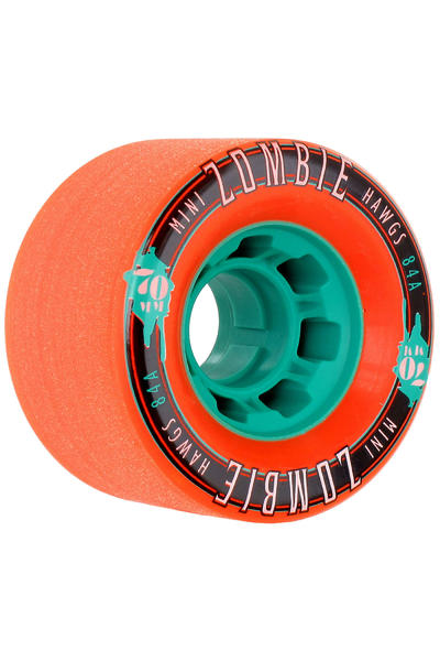 Hawgs Mini Zombies 70mm 84A Roue (orange) 4 Pack