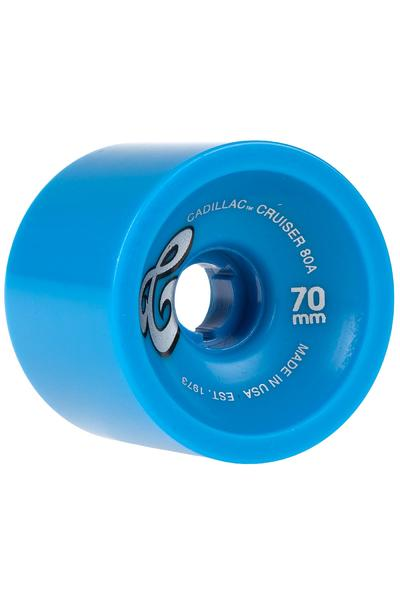 Cadillac Wheels Cruiser 70mm 80A Roue (blue) 4 Pack