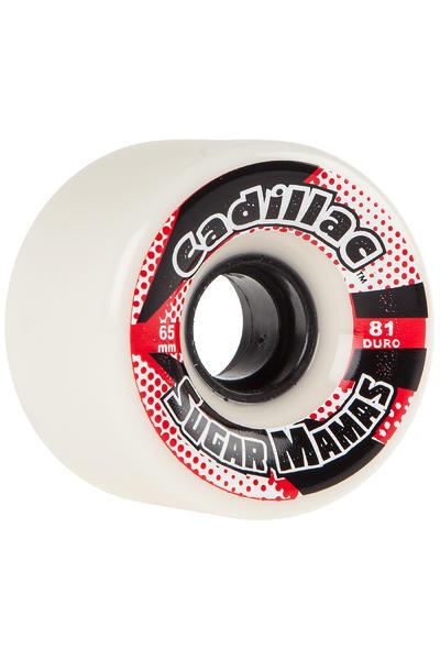 Cadillac Wheels Sugar Mamas 65mm 81A Rollen (white) 4er Pack