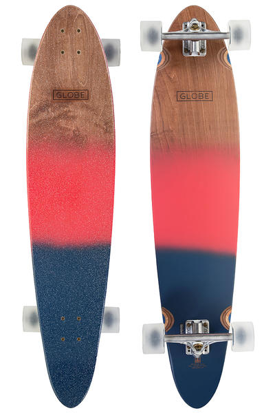 "Globe Pinner Classic 40"" (101,6cm) Complete-Longboard (red navy spray)"