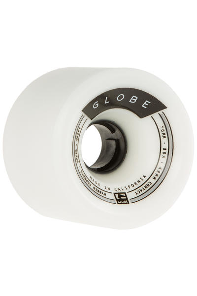 Globe Trooper 70mm 80A Rollen (white) 4er Pack
