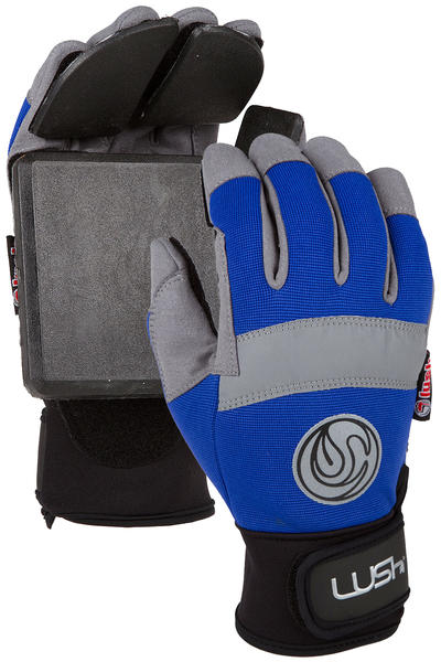 Lush Freeride Slide Gloves (blue)