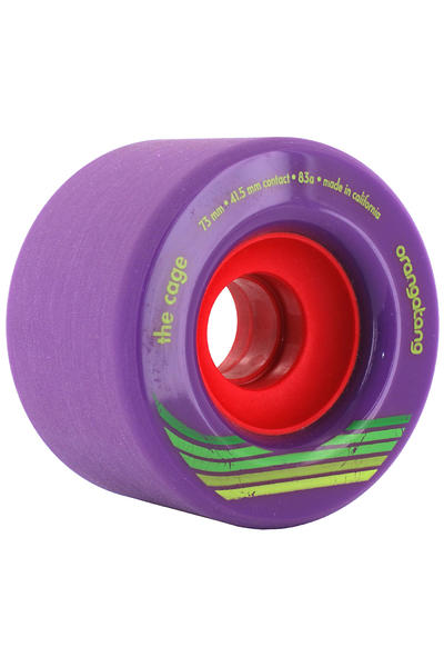Orangatang The Cage 73mm 83a Wheel (purple) 4 Pack