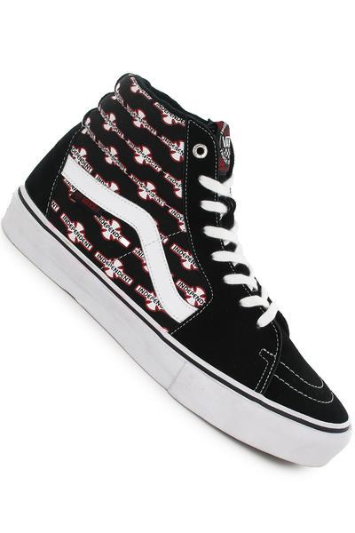 Vans x Independent Sk8-Hi Pro Suede Schuh (black)