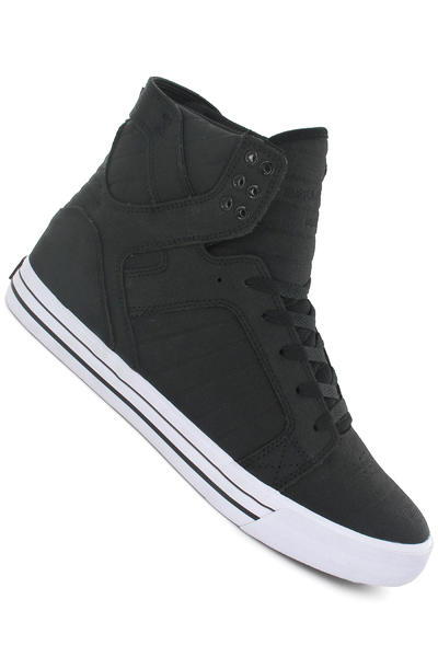 Supra Skytop Shoe (black white white)