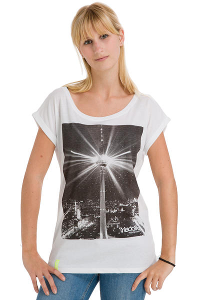 Iriedaily Disco Turm T-Shirt women (white)