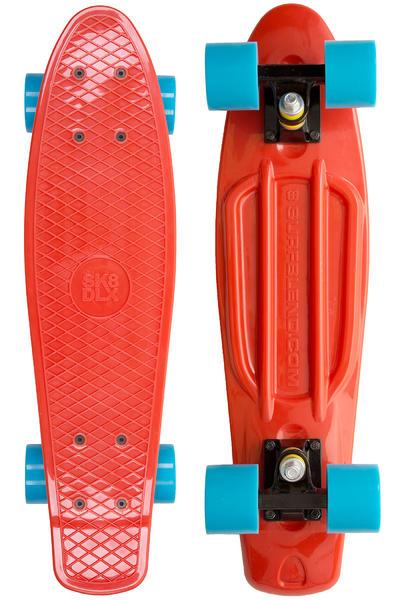 "SK8DLX x Surfblend Asphalt 22"" Cruiser (red)"