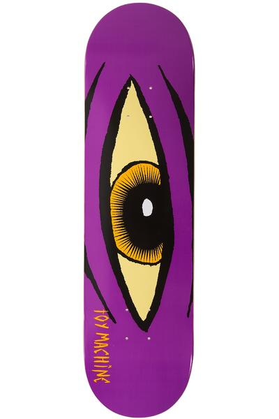 "Toy Machine Sect Eye 8.125"" Deck (purple)"