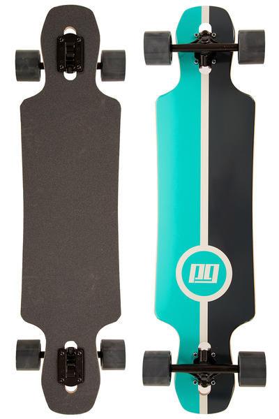 "Peng Line 38"" (96,5cm) Complete-Longboard (turquoise black)"