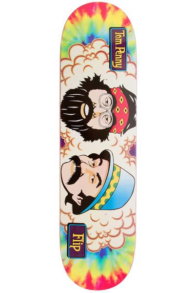 "Flip Penny Cheech And Chong 8.125"" Deck (tie dye)"