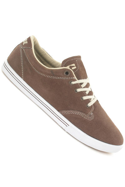 Globe Lighthouse Slim Suede Shoe (brown ash)