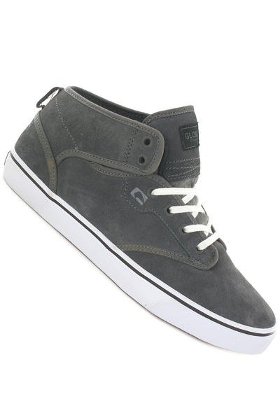 Globe Motley Mid Suede Shoe (charcoal schuster)