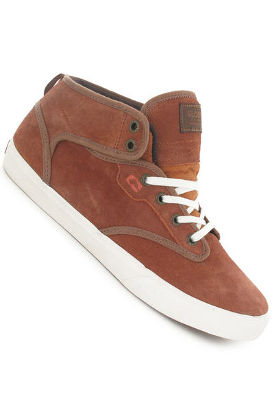 Globe Motley Mid Suede Shoe (ginger)