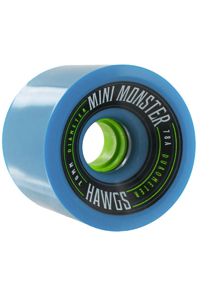 Hawgs Mini Monster 70mm 78A Wheel 2014 (blue) 4 Pack