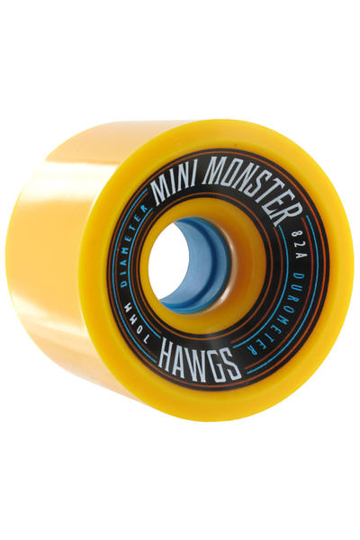 Hawgs Mini Monster 70mm 82A Rollen 2014 (yellow) 4er Pack
