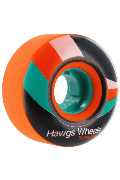 Hawgs Street 57mm 90A Roue 2014 (orange) 4 Pack