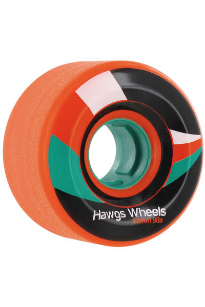 Hawgs Street 62mm 90A Roue 2014 (orange) 4 Pack