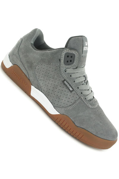 Supra Ellington Suede Shoe (grey gum)