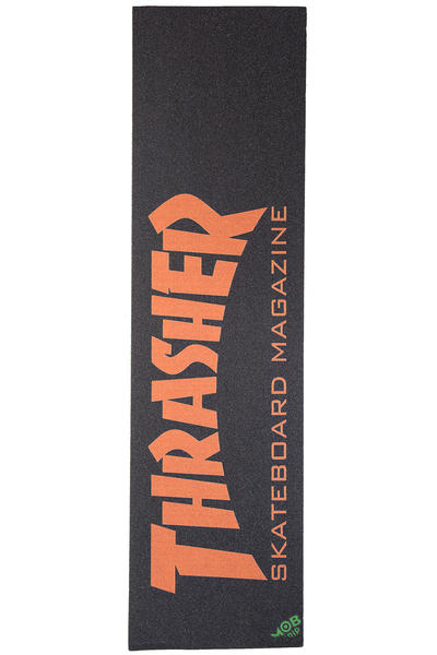 Thrasher x Mob Skate Mag Griptape (black orange)