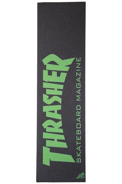 Thrasher x Mob Skate Mag Griptape (black green)