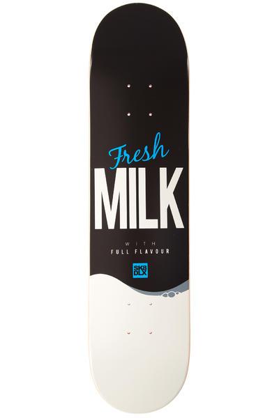 """SK8DLX Milk Series 7.5"""" Deck (black white)"""