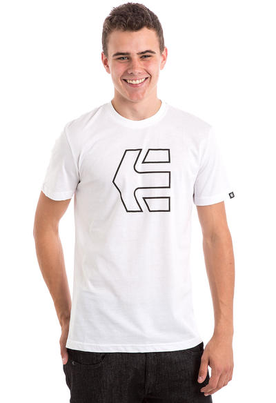 Etnies Icon Outline T-Shirt (white)