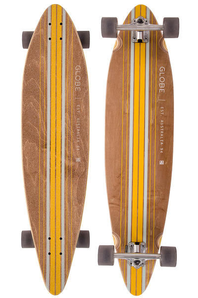 "Globe Pinner 41.25"" (105cm) Komplett-Longboard (brown yellow)"