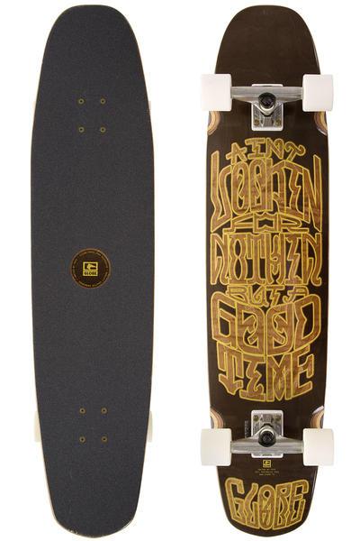 "Globe Trucker 39"" (99cm) Komplett-Longboard (black gold)"