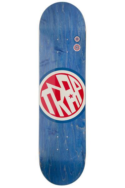 "Trap Skateboards Classic Big Circle 8"" Deck (blue)"