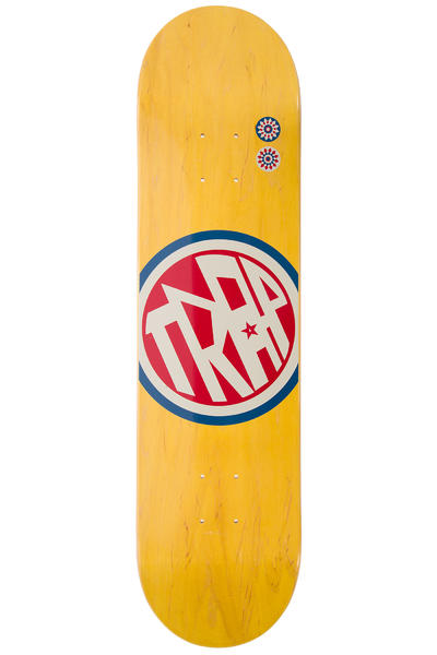"Trap Skateboards Classic Big Circle 7.875"" Deck (yellow)"