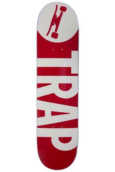 "Trap Skateboards Classic Big Logo 7.75"" Deck (bordeaux)"