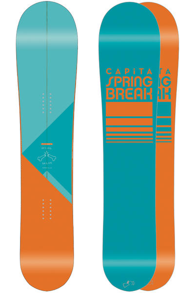 Capita x Spring Break Powder Pill 158cm Snowboard 2014/15